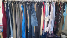 "Job Lot of 100 Used Ladies Womens ""Grade A"" Various Clothing"