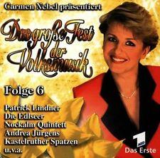 Das große Fest der Volksmusik 6 (Carmen Nebel, 1998) Patrick Lindner, Noc.. [CD]