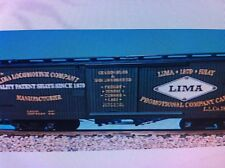 USA Trains G Scale 19039 Woodside Box Car Lima Locomotive Works Rd #786