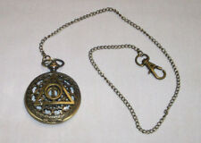 Harry Potter  Watch Deathly Hallow Pocket or Necklace  ( Antique Bronze Color )