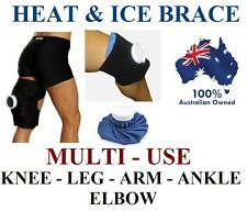 COLD ICE PACK HEAT PACK KNEE ELBOW ANKLE HAMSTRING QUADRICEP WRAP STRAP BRACE