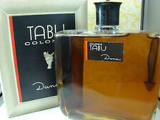 Vintage TABU 1 Litre 33.8 Oz HUGE DISPLAY BOTTLE in Box  by Dana Perfumes Full!