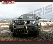 NISSAN NAVARA 2006-2010 BULL BAR, NUDGE BAR, A BAR STAINLESS STEEL + GRATIS!!