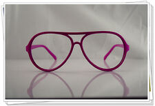 Pink Oversized Aviator Geek Nerdy Vintage Retro Fashion Glasses hiphop 80s