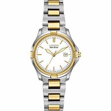 Citizen Eco-Drive Women's EW1964-58A Silhouette Two-Tone Stainless Steel Watch