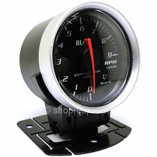 "BLITZ Racing Meter SD Tachometer Gauge Black 52mm / 2"" Diameter 19576 Genuine"