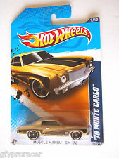 HOT WHEELS MUSCLE MANIA GM 12 70 MONTE CARLO 7/10