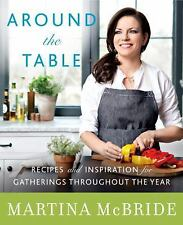 AROUND THE TABLE BY MARTINA MCBRIDE BRAND NEW HARDCOVER BEST PRICE ON EBAY