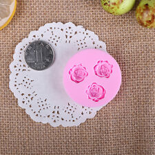 DIY 3D Flower Fondant Cake Chocolate Sugarcraft Mold Cutter Silicone Mould MM