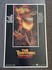 The Towering Inferno 1974 Half Sheet Movie Poster Steve Mcqueen
