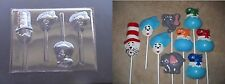 Cat in the Hat Thing 1 2 Fish Lollipop Chocolate Candy Soap Crayon Mold