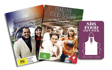 French & Italian Food Safari DVD - Limited Edition Apron Gift Pack - Region ALL