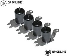 FRONT AND REAR BLACK BUMP STOPS EXTENDED 90mm HIGH FOR THE DISCOVERY 2 DC7113