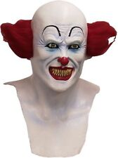 BRAND NEW Stephen King IT! DELUXE ADULT LATEX PENNYWISE SCARY CLOWN MASK