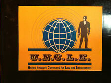 THE MAN FROM UNCLE`  FRIDGE MAGNET(80mm x 60mm) +   FREE MATCHING PHONE STICKER