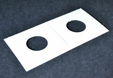 100- 2x2 cardboard mylar coin holders flips for PENNY,CENT new!
