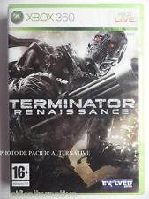OCCASION jeu TERMINATOR RENAISSANCE pour xbox 360 francais action game spiel