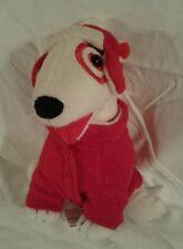 TARGET Bullseye Plush Animal Toy Christmas Fleece 2008 Edition Winter Outfit Dog