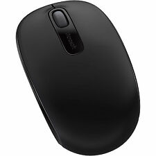 MICROSOFT Maus - Wireless Mobile 1850 Mouse, kabellos, schwarz - inkl. Versand