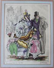 Signiert,Hand-Koloriert,:Kurt Hilscher :27 Radierungen: Mode: Karneval : Kostüm