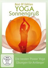 CHRIS - YOGA SONNENGRUß-POWER YOGA  DVD NEU