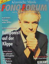 Fono Forum 1/98 DENON dvd-2000, Peter Maxwell Davies, Eberhard Blum, G. Johnson