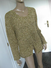 Oui Moments  toller Pullover L/ 44  beige
