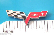 CHEVROLET CORVETTE C-6 C6 - Hat pin , lapel pin , tie tac  hatpin GIFT BOXED