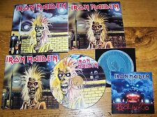 IRON MAIDEN Iron Maiden- Facsimile of Original LP Art - CD