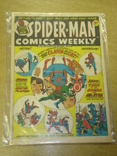 SPIDERMAN BRITISH WEEKLY #24 1973 JULY 28 MARVEL