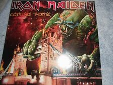 IRON MAIDEN MEGA RARE  NOW COMING HOME  2 LP 120 COPIES LONDON 2011 CLEAR WAX