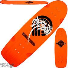 """POWELL PERALTA Jay Smith """"Brite Lite"""" Skateboard Deck 10"""" Orange 1980 Re-issue"""