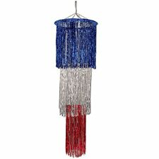 3-Tier Shimmering Chandelier 4ft / 1 pc / patriotic (B57510-RSB)