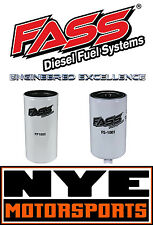FASS FUEL PUMP REPLACEMENT FILTER SET FUEL AND WATER SEPARATOR HS SERIES DIESEL