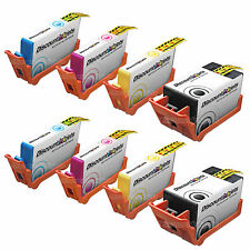 8 BLACK & COLOR set CD975AN Ink Cartridge for HP 920XL 920 Officejet 6500a plus