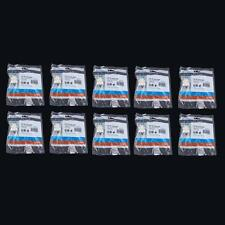 10x Cat5 RJ45 Punch Down Keystone Jack CAT5 Network Ethernet RJ45 White Lot Pack