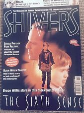 SHIVERS Magazine - No 72 - Blair Witch - Gilliam - 6th Sense - Deep Blue Sea