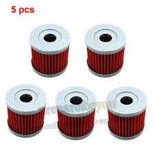 5 pieces Oil Filter For DRZ400 DRZ400E DRZ400S DRZ400SM LTZ400 LTR450