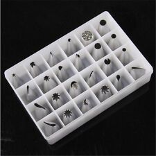 24pcs/Set Stainless Steel Cake Decorating Mouth Baking Mould Kitchen Tools