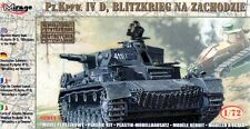 "PZ.KPFW IV AUSF D ""BLITZKRIEG ON THE WEST"" W/PHOTOETCHED PARTS 1/72 MIRAGE NEW!"