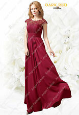 AngelFashion New Design M03 Bridesmaid Evening Formal Party Prom Dress UK 8-24