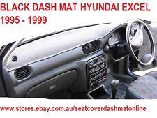 DASH MAT, DASHMAT, DASHBOARD COVER FIT HYUNDAI EXCEL 1995 - 1999, BLACK