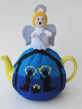Christmas Nativity Tea Cosy Knitting Pattern - Knit your own!