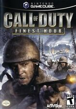 Call Of Duty Finest Hour Nintendo Gamecube Game Only