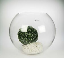 Accent Concepts Glass Rose / Fish Bowl - Small 12cmx17cm