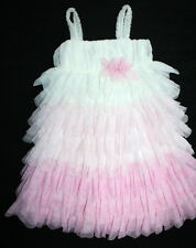 ISOBELLA & CHLOE Ombre PINK GIRLS BEAUTIFUL TUTU TULLE LAYERS DRESS 6 $115