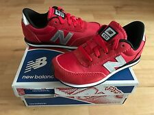 NEW BALANCE 410 Younger Boys Trainers, Red - Size 10