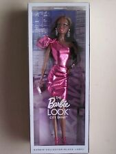 2015 Barbie Black Label il look CITY SHINE Rosa Abito mai tolto dalla scatola