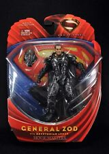 """MAN OF STEEL ZOD with Kryptonian Armor movie masters 6"""" action figure mip"""