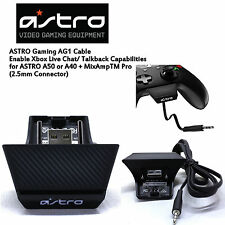 Astro Xbox One AG1 Cable Enabling Xbox Live Chat Talkback for a40 a50 Mixamp Pro